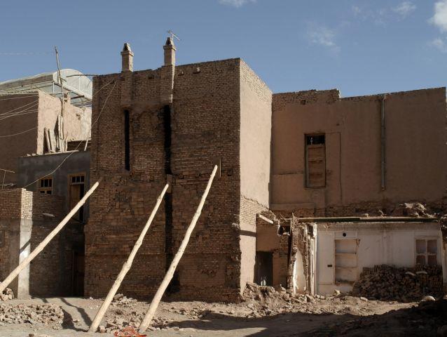 正在建设的房子