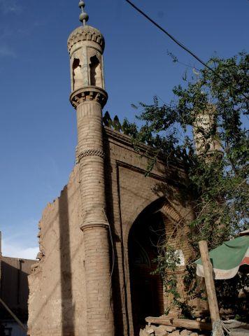 正在拆建的一间清真寺